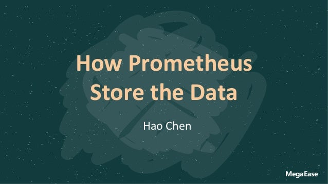 How Prometheus Store the Data