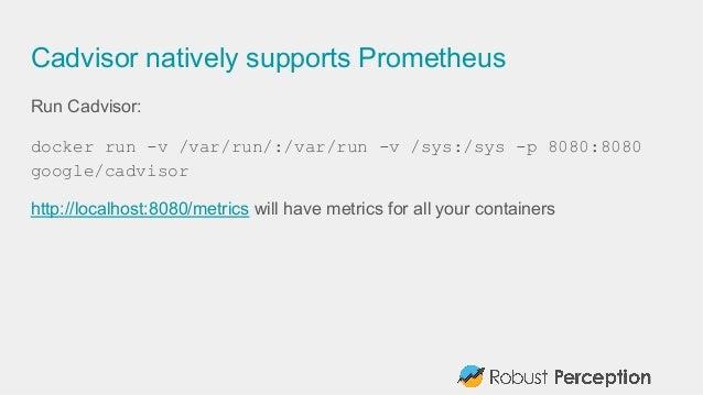 Prometheus and docker docker galway november 2015 for Consul node js