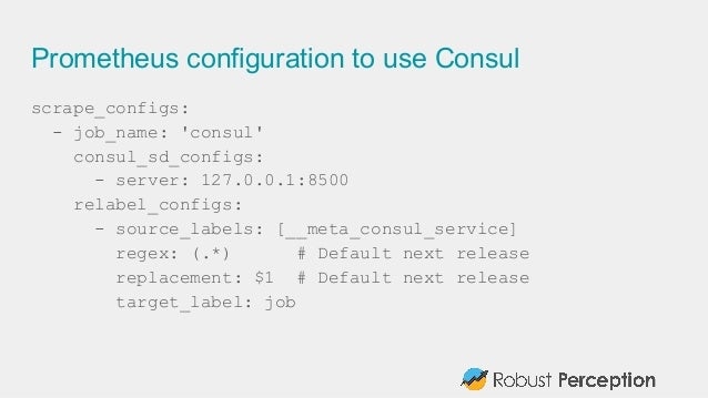 Prometheus and docker docker galway november 2015 for Consul in docker