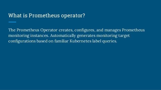 Service monitor Custom Resource Definition(CRD)