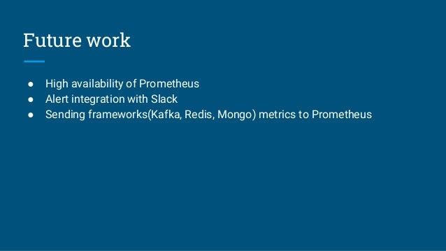 Prometheus kubernetes tech talk