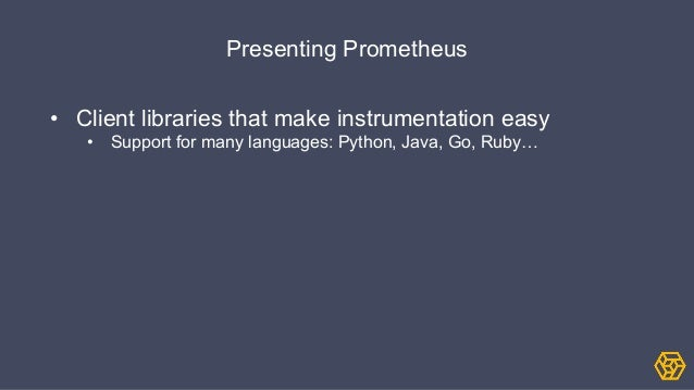 Prometheus lightning talk devops dublin march 2015 for Consul java client
