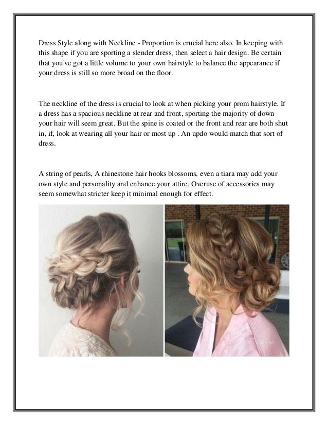 Prom hair style advice from a pro