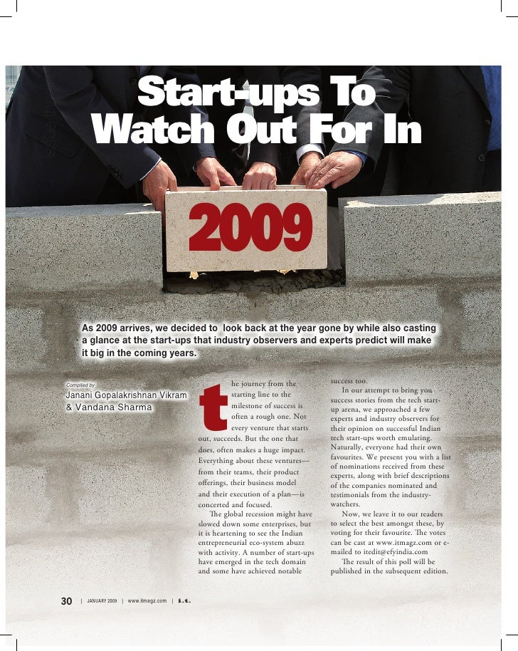 Start-ups To issue theme                            Watch Out For In                                                      ...