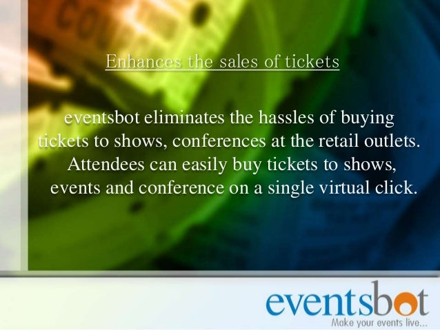 how to sell tickets to online event