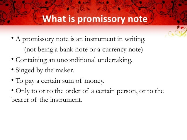 Captivating Requisites Of Promissory Note Presented By Ashif Kanniyath; 2. Regarding Parties Of Promissory Note