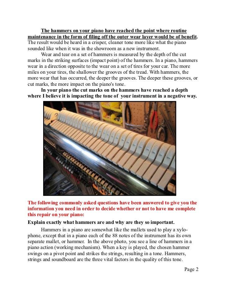 Technical Info 2   hammer filing Slide 2