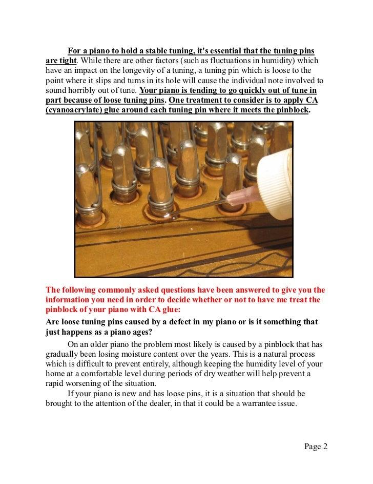 Technical Info 7   CA Glue treatment of wrestplank Slide 2
