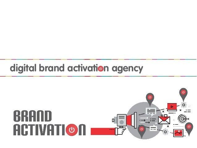 digital brand activation agency