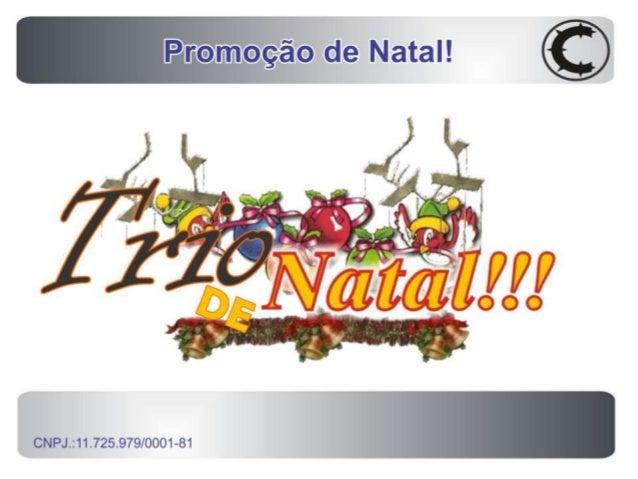 Promoção Trio de Natal CerealMaster