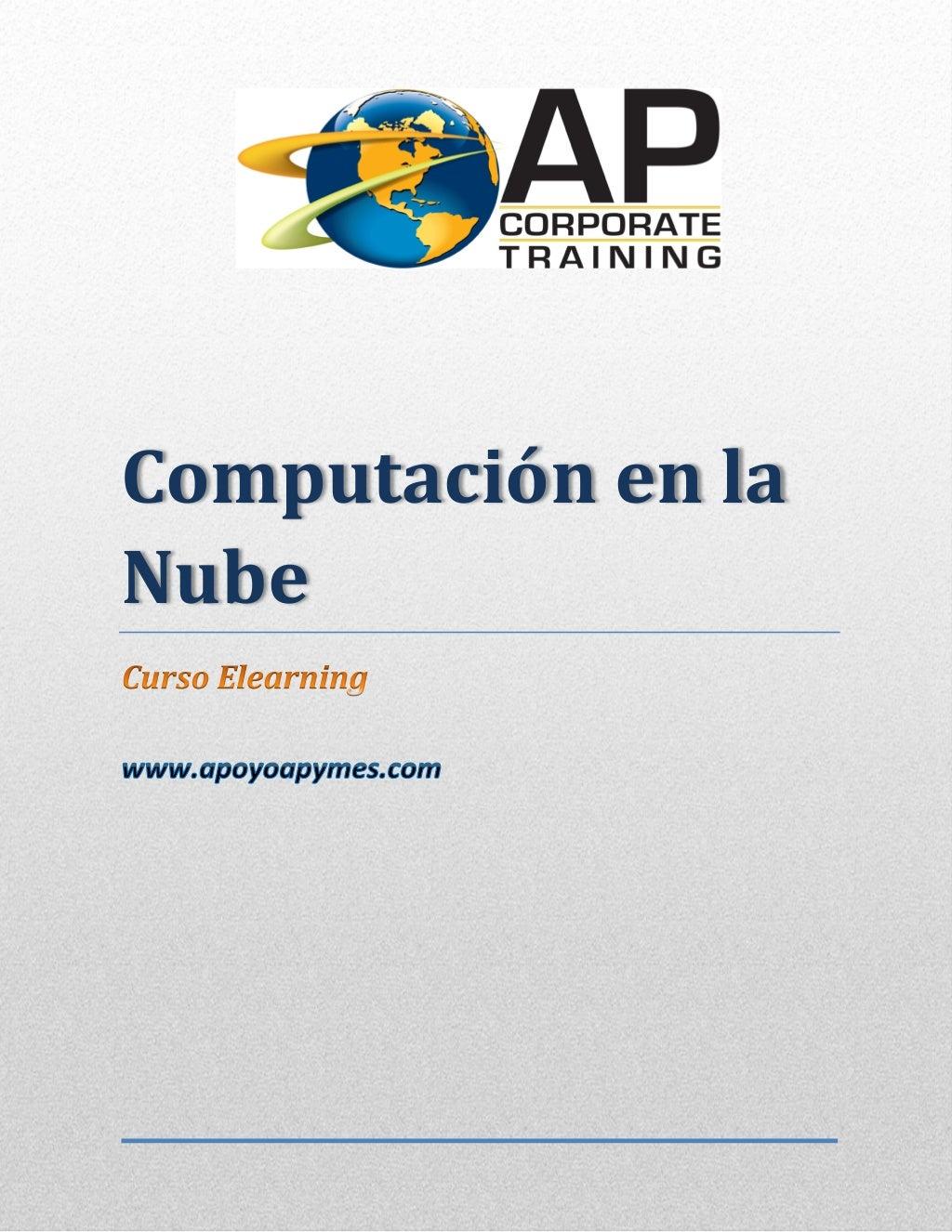Promocional del curso computación en la nube