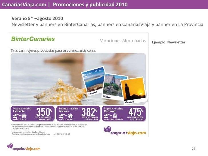 CanariasViaja.com    Promociones y publicidad 2010<br />Torneo Vinos de Lanzarote – agosto 2010<br />Cartel y newsletter<b...