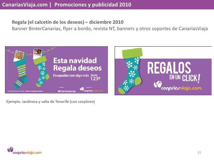 CanariasViaja.com    Promociones y publicidad 2010<br />Puente Diciembre – noviembre 2010<br />Banner BinterCanarias y ban...