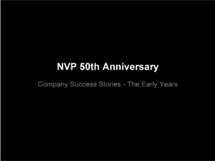 View the fullNorwest Venture Partners presentation            on YouTube