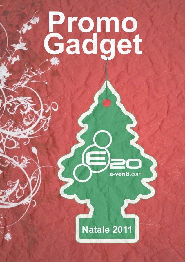 Promo Gadget Natale 2011
