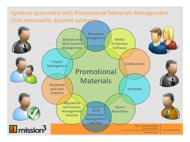 Mission3 Electronic Promotional Materials Management Empm