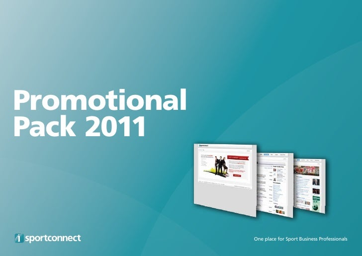 PromotionalPack 2011              One place for Sport Business Professionals