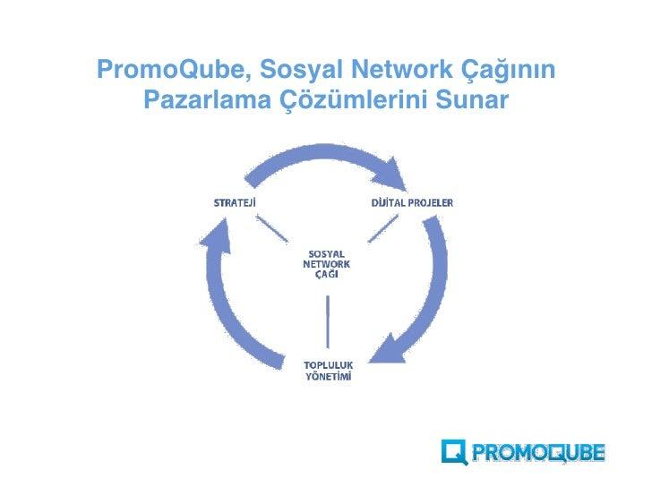 PromoQube, Sosyal Network Çağının    Pazarlama Çözümlerini Sunar