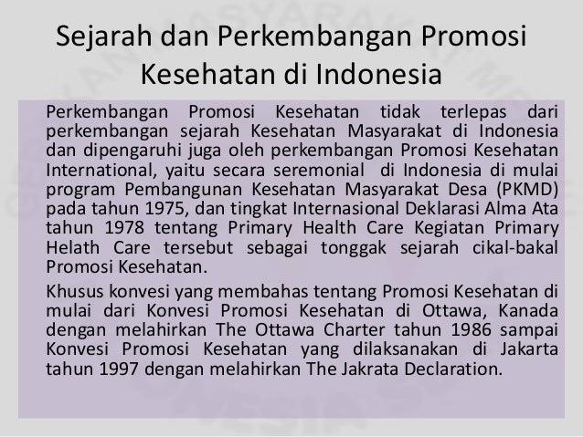Promosi kesehatan nasional