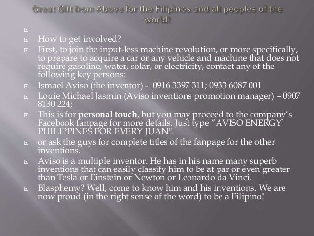   How to get involved?  First, to join the input-less machine revolution, or more specifically, to prepare to acquire a...