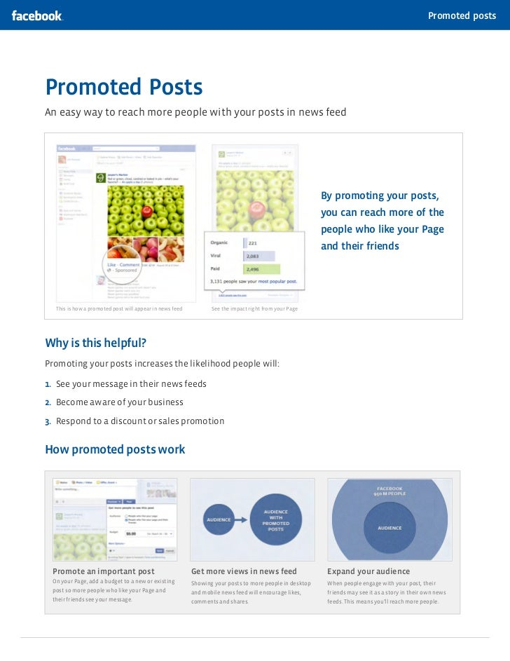 Promoted postsPromoted PostsAn easy way to reach more people with your posts in news feed                                 ...