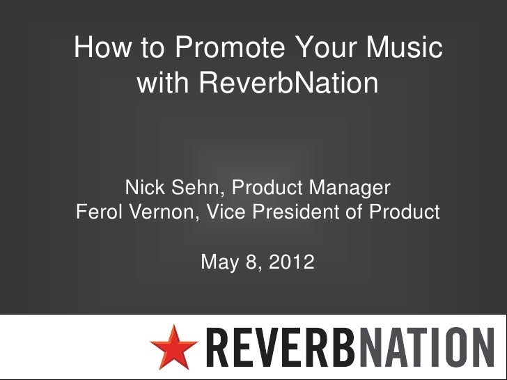 Apr 08,  · ReverbNation is a solution specifically created for the demands of artists, music lovers, record brands, music professionals, companies, and performance destinations. It is primarily based in the United States, and utilized by music artists and bands worldwide. ReverbNation allows artists and musicians to broadcast, display and publicize their songs.5/