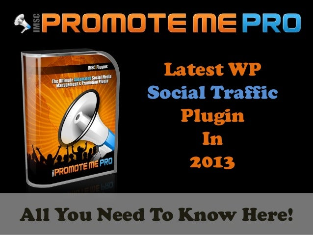 Latest WPSocial TrafficPluginIn2013All You Need To Know Here!