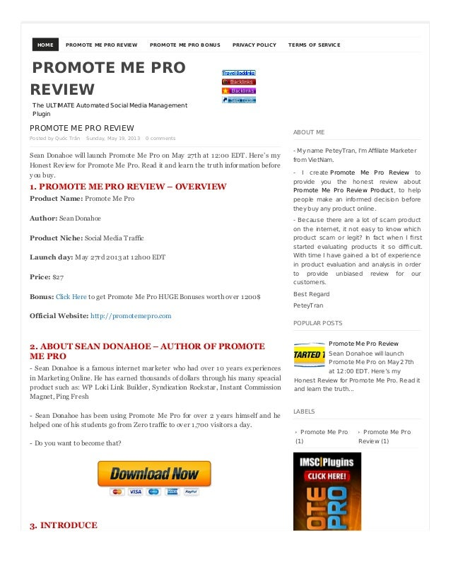 HOME PROMOTE ME PRO REVIEW PROMOTE ME PRO BONUS PRIVACY POLICY TERMS OF SERVICEPROMOTE ME PRO REVIEWPosted by Quốc Trần Su...