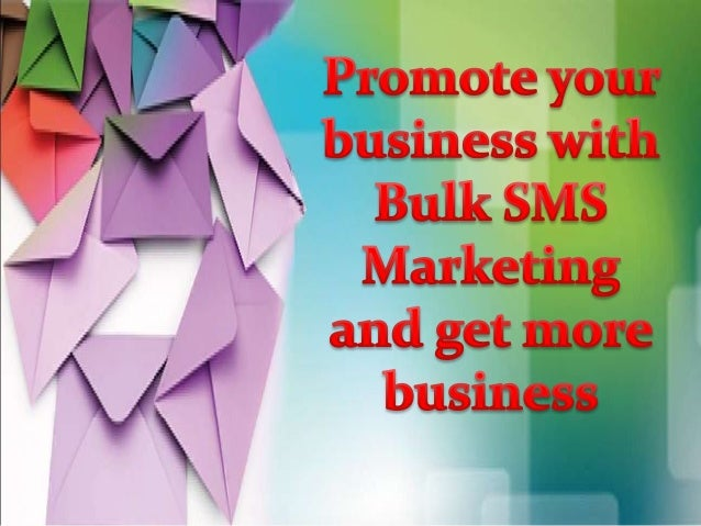 Bulk SMS means sending a huge quantity of short text message to big group of recipients at once. SMS works similarly with ...