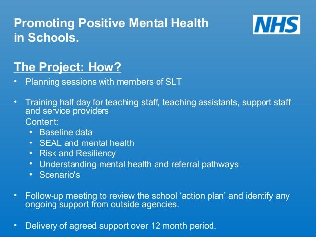 unit 619 understand mental health problems Focus of the unit is on understanding the different ways in which mental health problems impact on the individual and others in their social network it also considers the benefits of early intervention.
