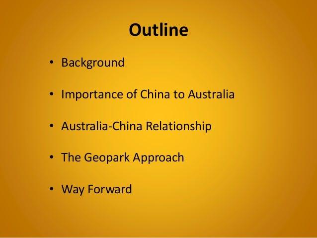 australia and china relationship essay topics