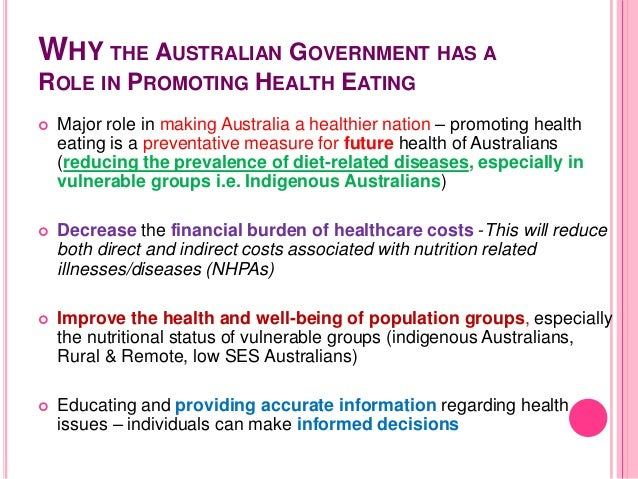 2010 to 2015 government policy: obesity and healthy eating
