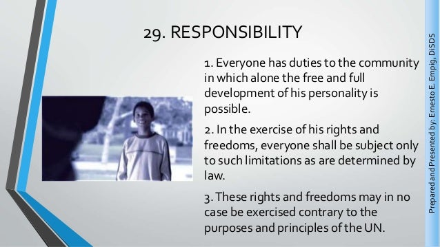 essay about rights and responsibilities This free business essay on rights and responsibilities of an organization's employees is perfect for business students to use as an example.