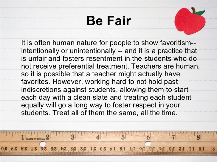 Promoting Respect In The Classroom