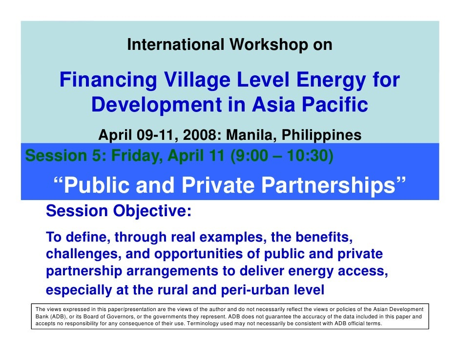 AEPC                          Alternative Energy Promotion Centre                              International Workshop on  ...