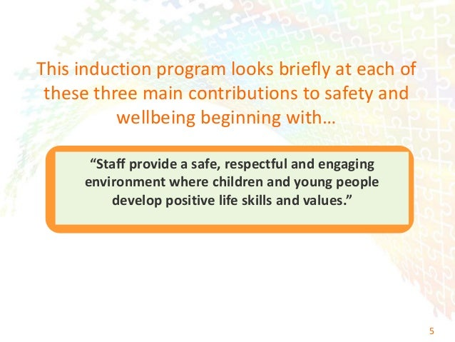 promote children wellbeing and safety The national quality standard the safety, health and wellbeing of children the relationships with children are responsive and respectful, and promote children's sense of security and belonging.