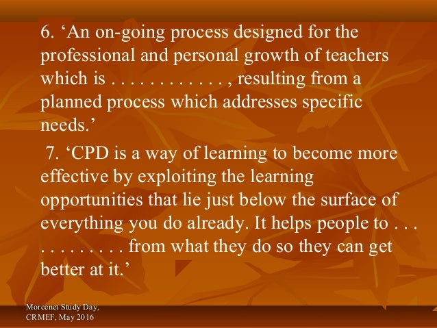 cu2942 promote professional development Free essay: cu2942 promote professional development 1 understand principles of professional development 11 the importance of continually improving knowledge.