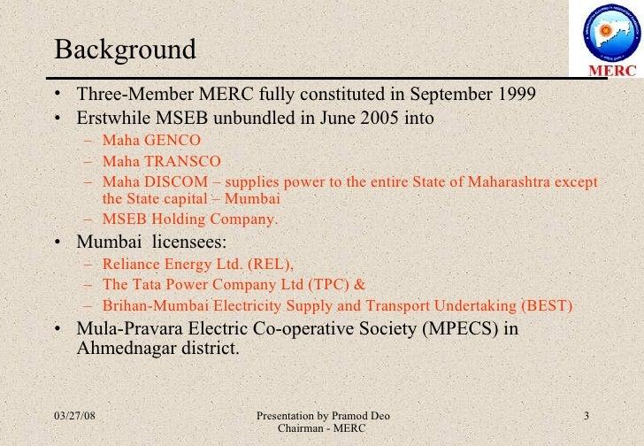 Electricity Act 2003 Maharashtra