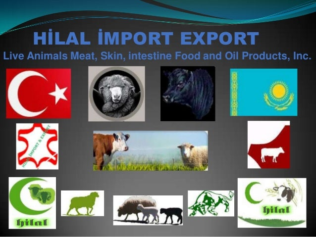 HİLAL İMPORT EXPORT Live Animals Meat, Skin, intestine Food and Oil Products, Inc.