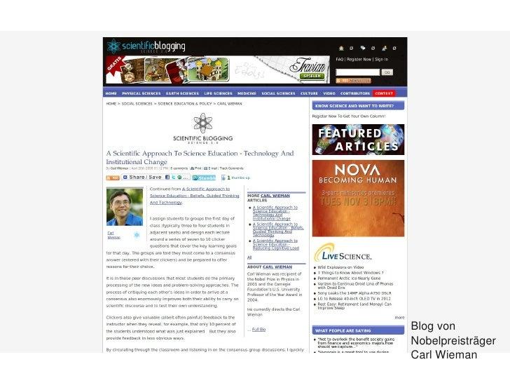 Blogvon         Nobelpreisträger       CarlWieman