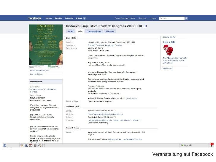 VeranstaltungaufFacebook