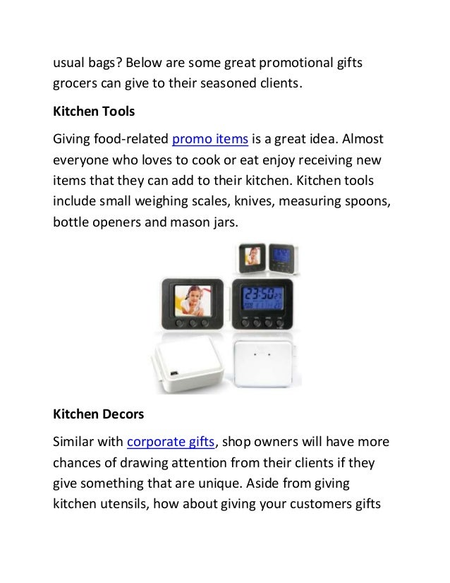 Fine Kitchen Promotional Items Gallery - Interior Design Ideas ...
