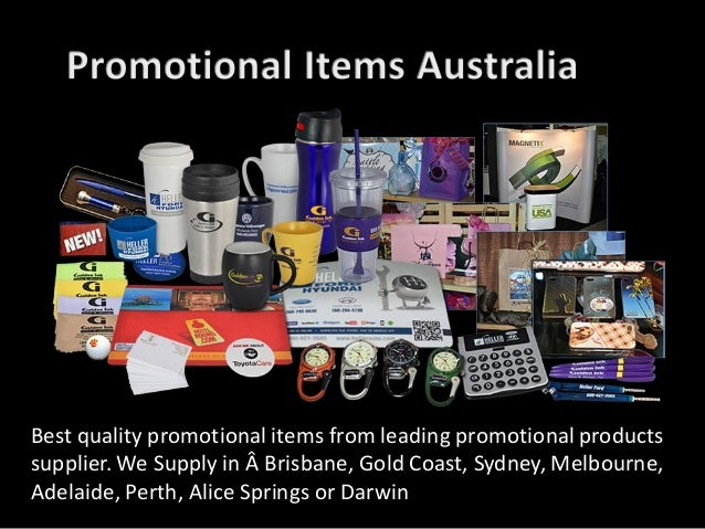Best quality promotional items from leading promotional products supplier. We Supply in Brisbane, Gold Coast, Sydney, Me...