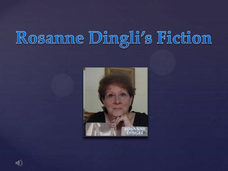 Rosanne Dingli's Fiction<br />