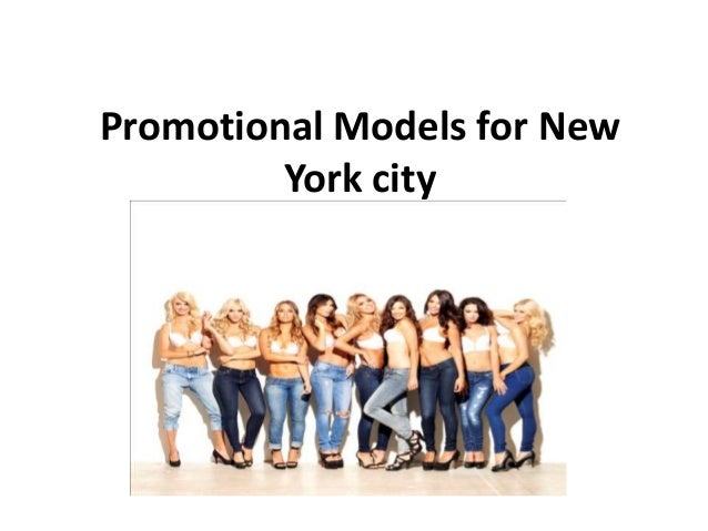 Promotional Models for New York city
