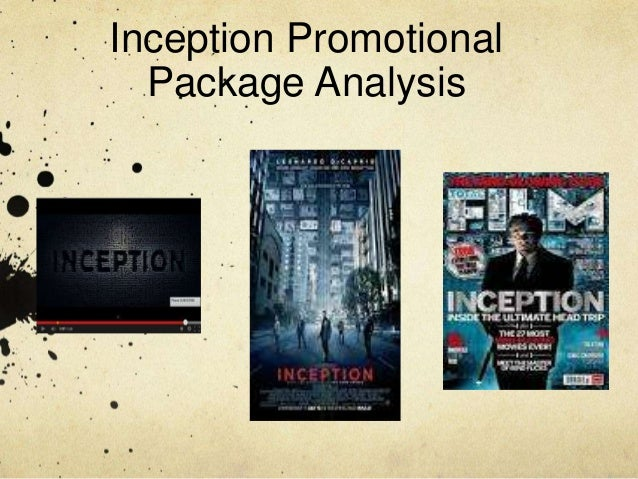 Inception Promotional Package Analysis