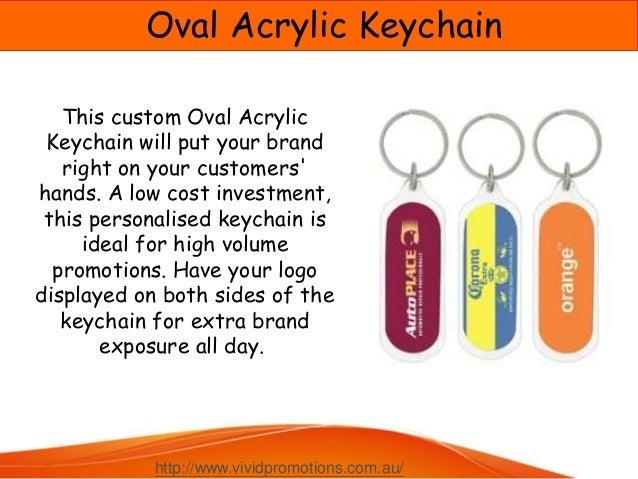 Custom Printed Keyrings and Keychains at Vivid promotions