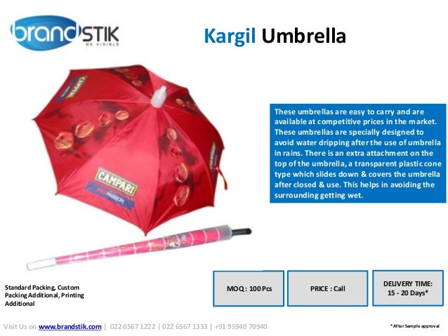 d383512b3b7d1 A billboard for your brand - Promotional Umbrellas 2016