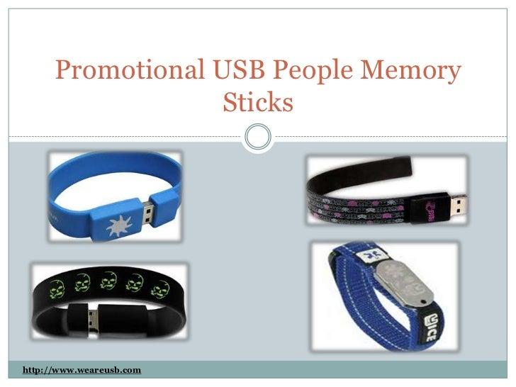 Promotional USB People Memory                   Stickshttp://www.weareusb.com
