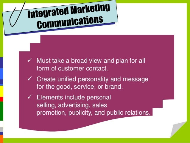tesco promotional activity is integrated to achieve marketing objectives This part of the tutorial on promotion decisions looks at the different types of objectives of marketing promotions including to types of promotion objectives.